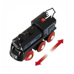 BRIO - Schwarze Akku-Lok mit Mini-USB