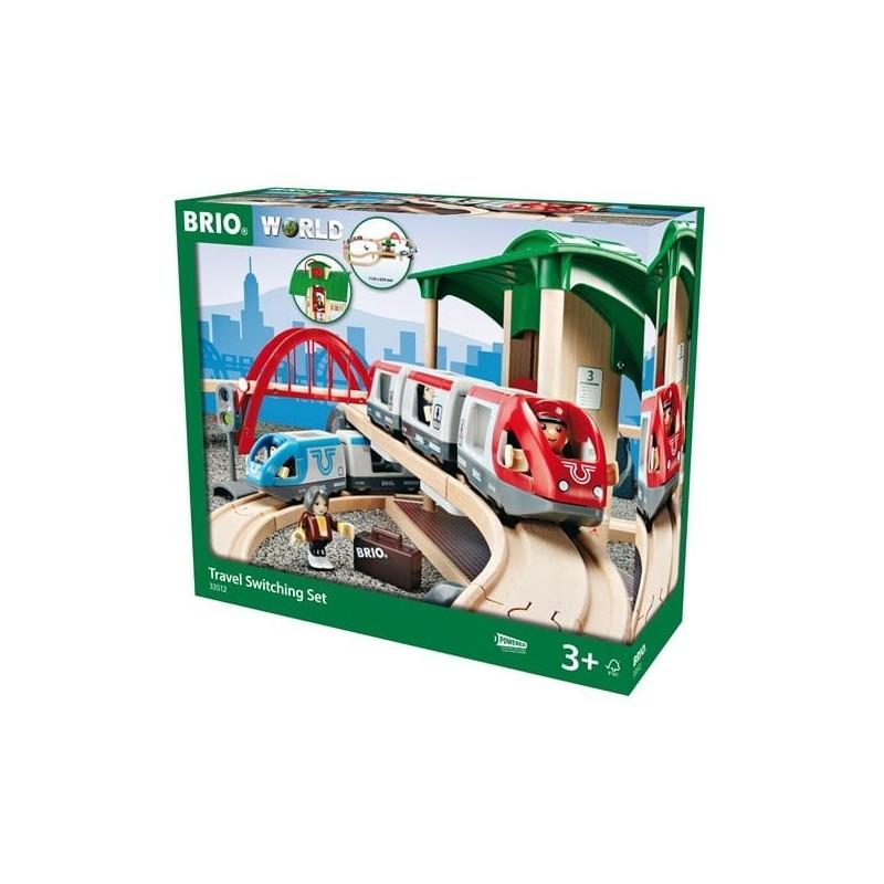 BRIO - Großes Bahn Reisezug Set