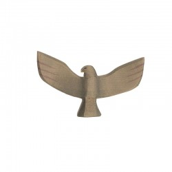 Holztier: Adler mit Schwingen