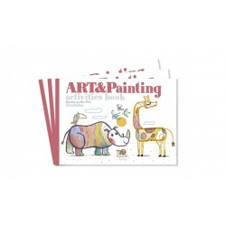 Art& Painting activities book