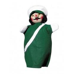Polizist grün