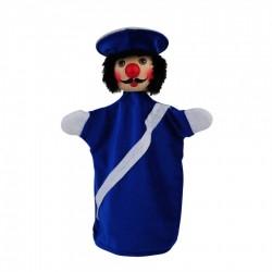 Polizist blau
