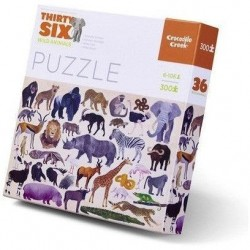 Puzzle Wilde Tiere