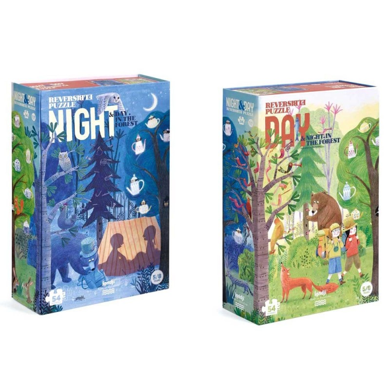 Puzzle: NIGHT & DAY in the forest