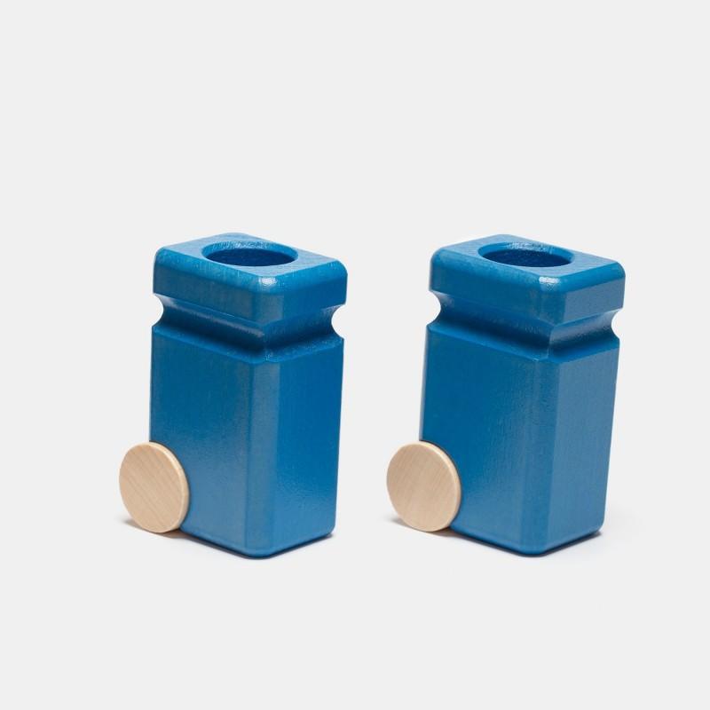 Mülltonne blau