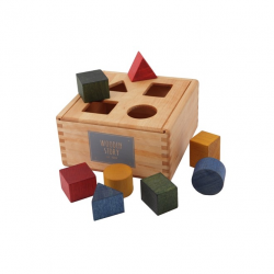 Formen - Sortierbox Wooden Story