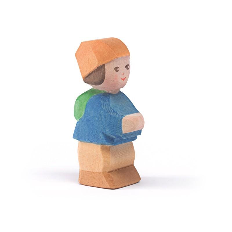 Holzfigur: MO, das Zwergenkind