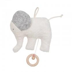 Spieluhr Elefant natur