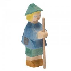 Holzfigur: Hirtenbüblein