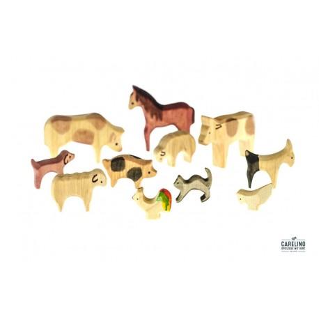 Tierset 11 teilig