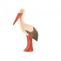 Holztier: Storch