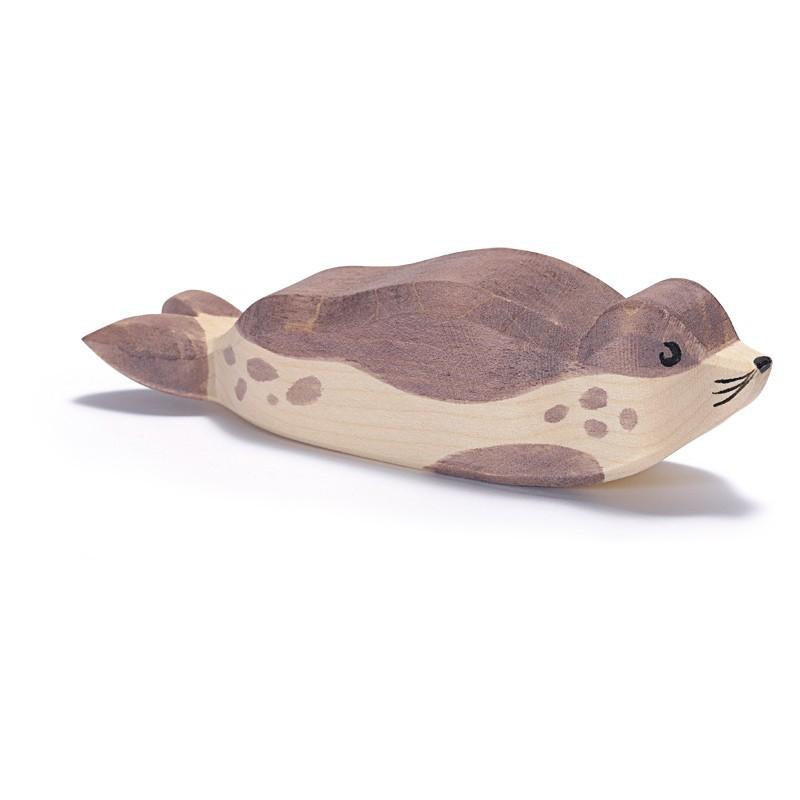 Holztier: Seehund klein