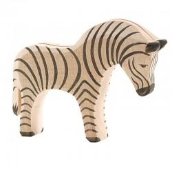 Holztier: Zebra