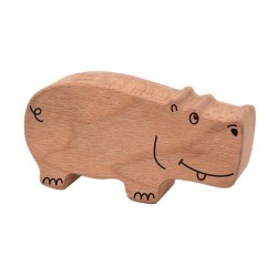 Holzrassel Hippo