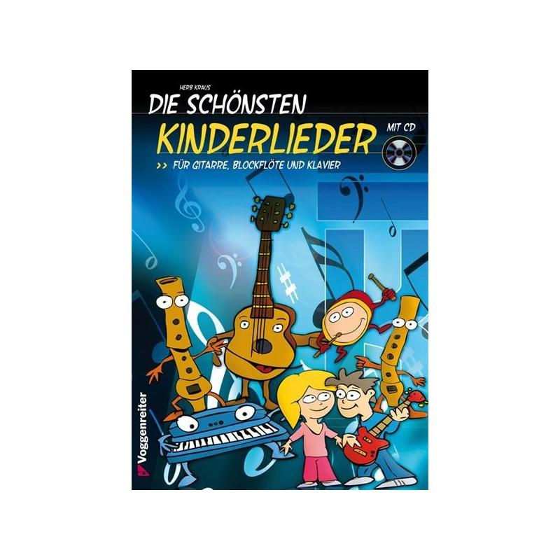 Buch: Die schönsten Kinderlieder mit CD