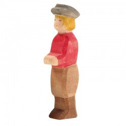 Holzfigur: Sohn