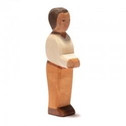 Holzfigur: Vater