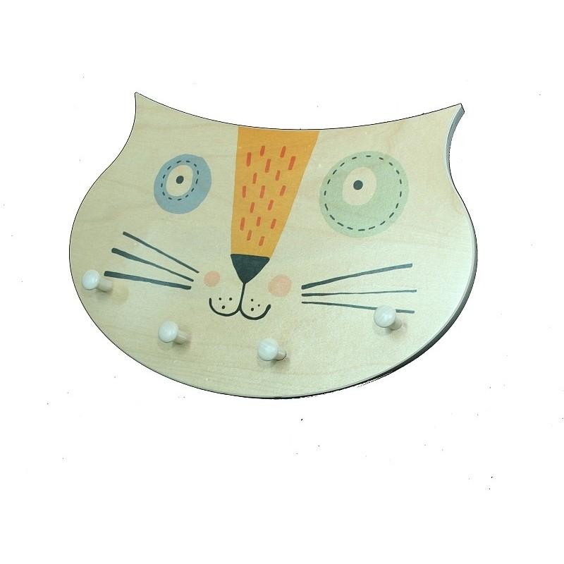 Garderobe Katzengesicht