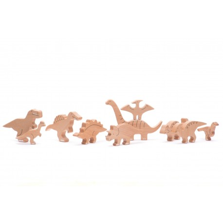 Figurenset - Dinosaurier