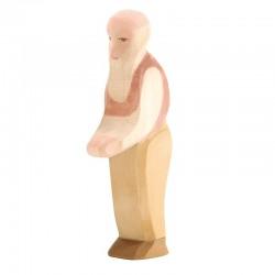 Holzfigur: Großvater