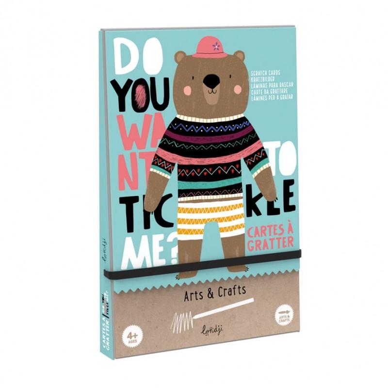Rubbelkarten - Do you wnat to tickle me?