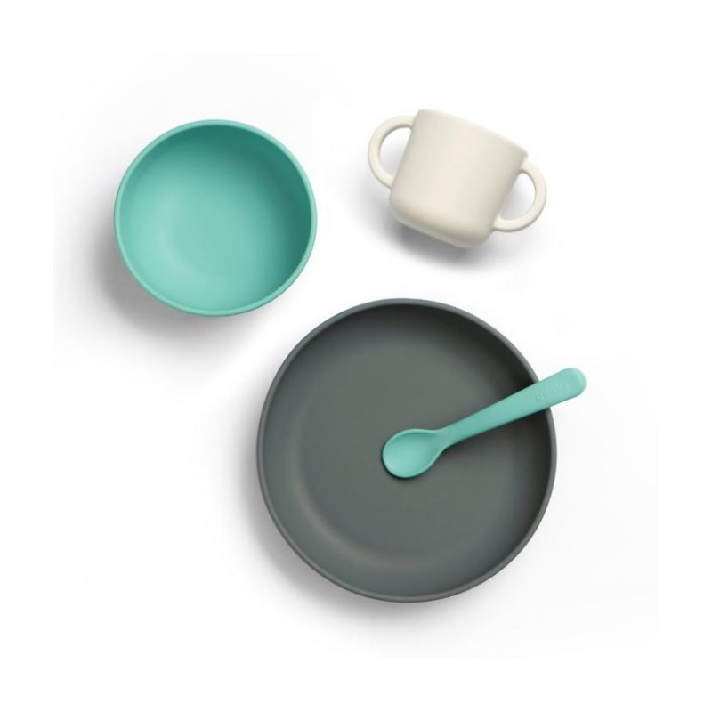 EKOBO Premium-Silikon-Babymahlzeit-Set