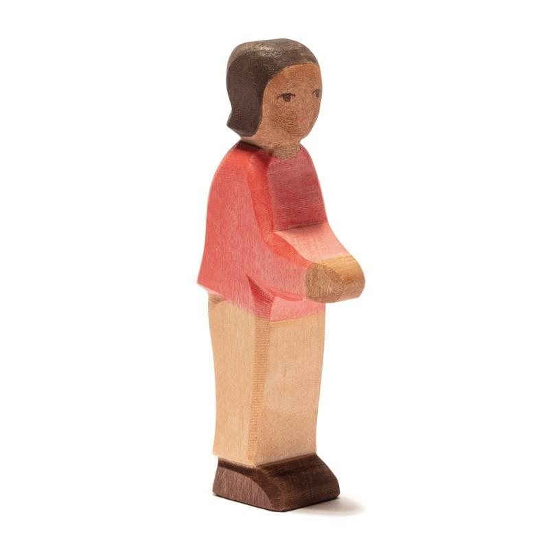 Holzfigur: Sohn II