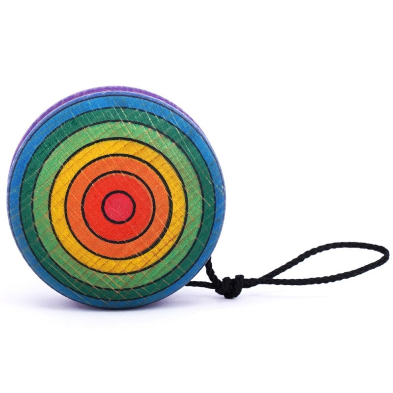 YOYO Regenbogen mit Freilauf
