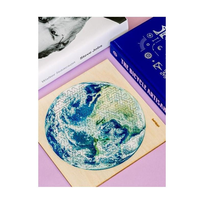 Behäppi - Holzpuzzle - Erde/Mond
