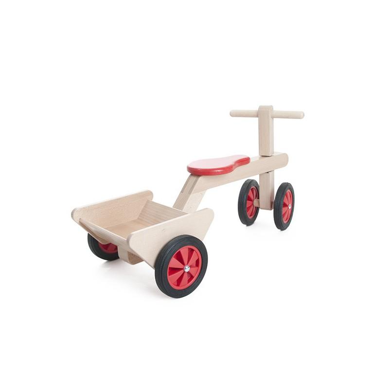 rutschauto dreirad von waelderspielzeug holzspielzeug mit qualit t. Black Bedroom Furniture Sets. Home Design Ideas